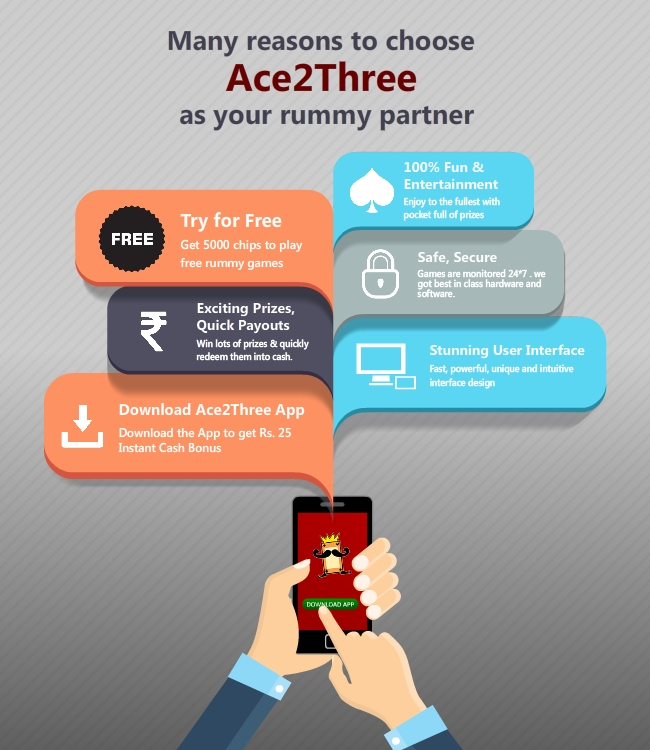 reasons to choose ace2three - infographics